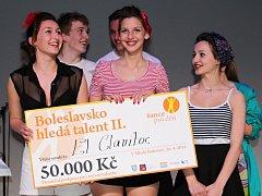 Druhý ročník Boleslavsko hledá talent vyhrálo pěvecké trio El Clavitos.