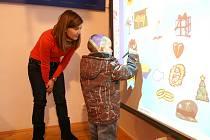 Děti se v Dobrovici bavily i učily