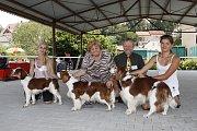 O víkendu proběhla na Krásné louce národní výstava Interdog Bohemia