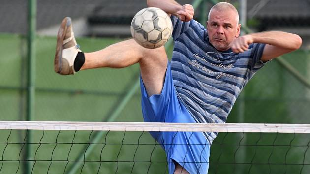 Ze zápasu SA Kolomuty proti TJ Hrdlořezy Důl