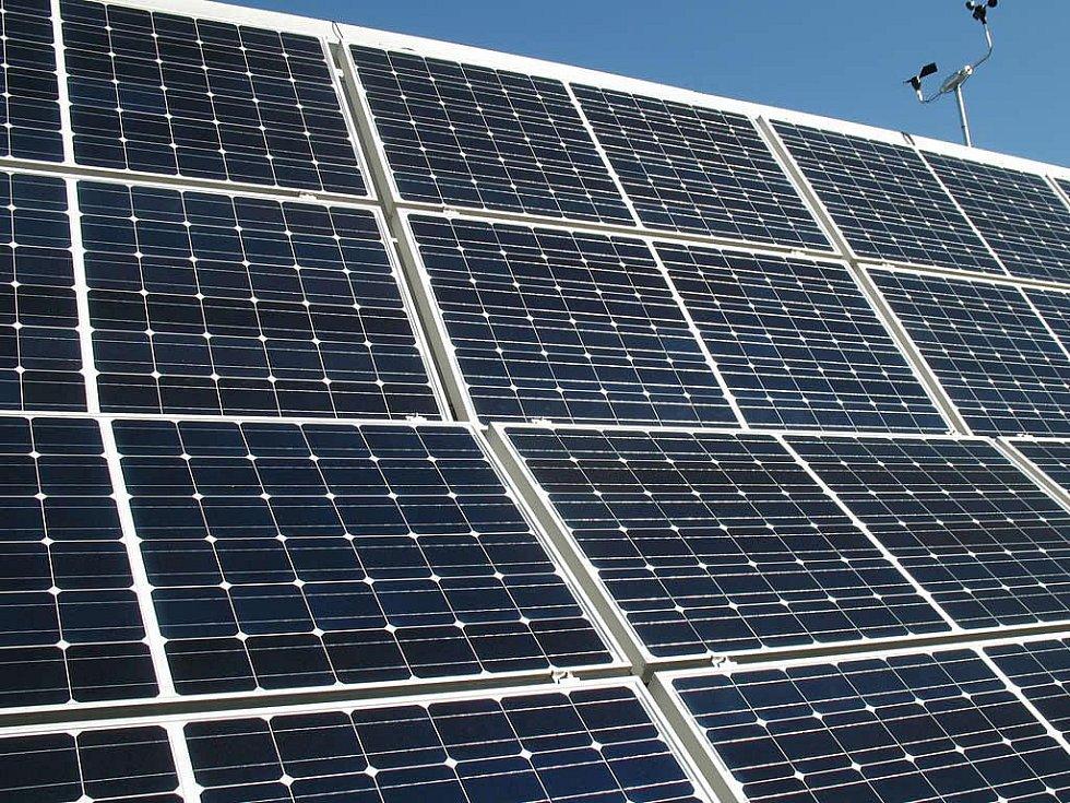 Solární panely. Ilustrační foto