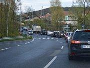 Tragická nehoda u Hrdlořez nedaleko Mladé Boleslavi.