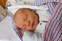 Štěpán Bejr se narodil 17. března, vážil 3,47 kg a měřil 50 cm. Maminka Ludmila a tatínek Jaroslav si ho odvezou domů do Kněžmosta.