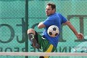 Ve Sportovním areálu Kolomuty se uskutečnil o víkendu nohejbalový turnaj trojic - 10. ročník Helada Cup, kterého se zúčastnilo 31 hráčů, 10 týmů.