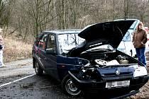 Dopravní nehoda v Neuberku.