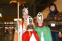 Tři králové navštívíli také Interspar