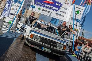 Břetislav Enge vyhrál Rally Bohemia historic