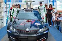 Jan Kopecký a Pavel Dresler vyhrály Rally Bohemia 2016