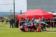První závod Boleslavského poháru se konal v Dlouhé Lhotě