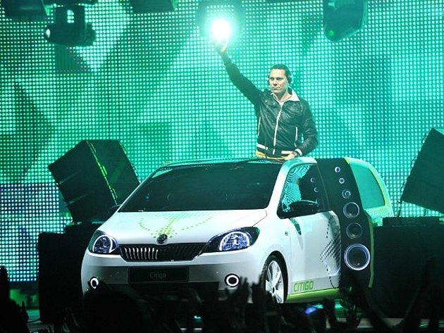 Škoda Citigo a DJ Tiesto