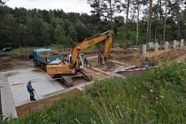 Práce na novém areálu jsou v plném proudu