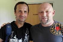 Martin Mucek s Jiřím Novotným