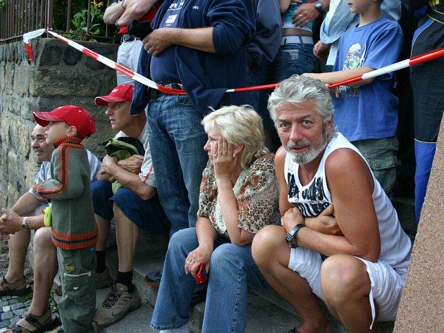 Diváci na Rally Bohemia