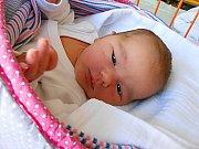 Bára Langová se narodila 20. února, vážila 3,34 kg a měřila 50 cm. S maminkou Kateřinou a tatínkem Milošem bude bydlet v Benátkách nad Jizerou.