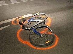 Nehoda cyklisty - ilustrační foto