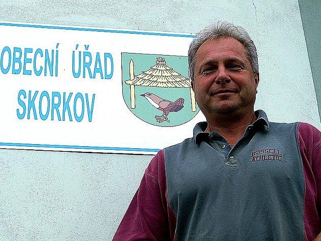 Starosta Skorkova Miloš Honzák