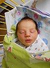 Barbora Harvancová se narodila 5. února, vážila 3,96 kg a měřila 51 cm. S maminkou Martinou a tatínkem Jiřím bude bydlet v Kosořicích, kde už se na ni těší sestřička Terezka.