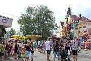 Tradiční Annenská pouť se konala o víkendu v Mnichově Hradišti