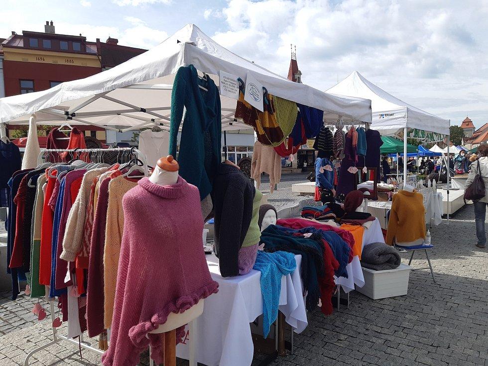 Farmářské trhy v Mladé Boleslavi v pátek 21. května.