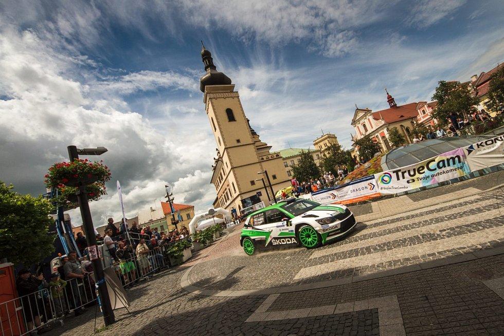 Kopecký ovládl Rally Bohemia.