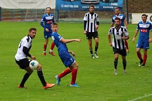 Sparta Kolín porazila v nedělním zápase 8. kola Fortuna Divize C Benátky nad Jizerou 8:0.