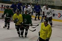Hokejisté BK Mladá Boleslav na dopoledním tréninku