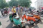 V Bezně se sjeli příznivci historických motocyklů a vyjeli na okružní jízdu po Mladoboleslavsku