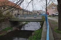 Mostek přes Klenici