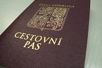 Cestovní pas. Ilustrační foto
