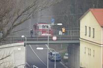 Železniční nehoda se stala u boleslavského Hlavního nádraží