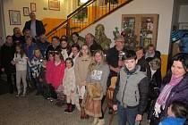 Letos poprvé se do akce Česko zpívá koledy zapojili i v 1. Základní škole v Mladé Boleslavi.