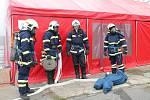 Fyzickou zdatnost, teoretické znalosti i techniku zásahu otestovala odborná příprava velitelů a strojníků hasičských jednotek.