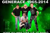Současné složení kapely Generace