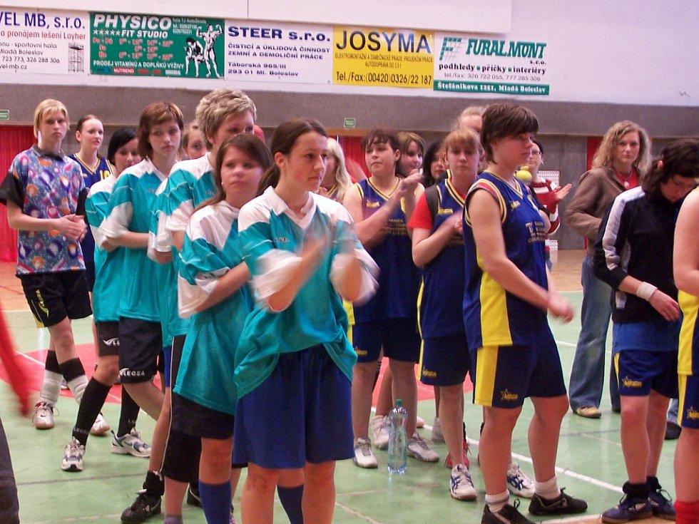 Hráčky Gymnázia se radovaly z vítězství
