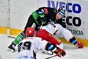 Tipsport extraliga: BK Mladá Boleslav - Mountfield Hradec Králové.