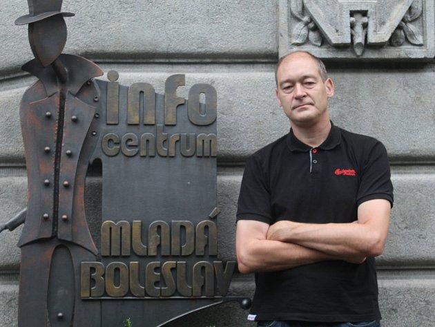 Ředitel infocentra vMladé Boleslavi Gérard Keijsper