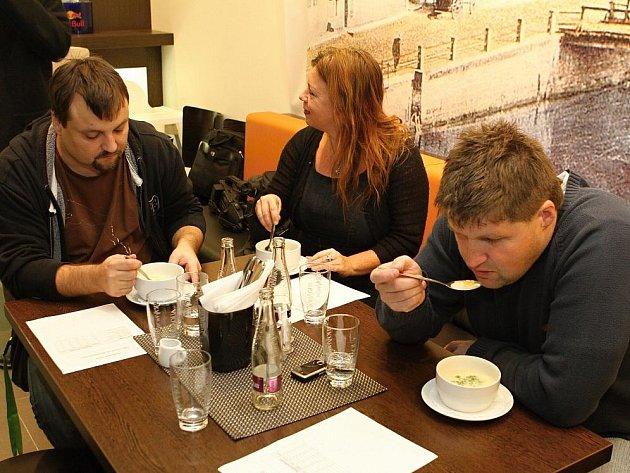 Tisková konference k vyhlášením výsledků soutěže Jak chutná Boleslavsko.