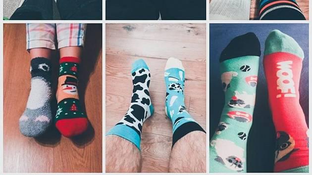 Ponožkový den volejbalistek Malibu