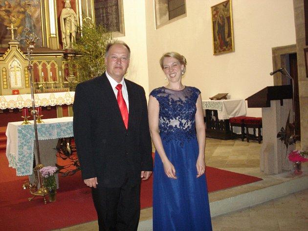 """V kostele Nanebevzetí  panny Marie se  konal čtvrtý závěrečný  varhanní koncert  cyklu  """"Léto budiž pochváleno"""", pořádaný Společností Mikuláše Klaudiána."""