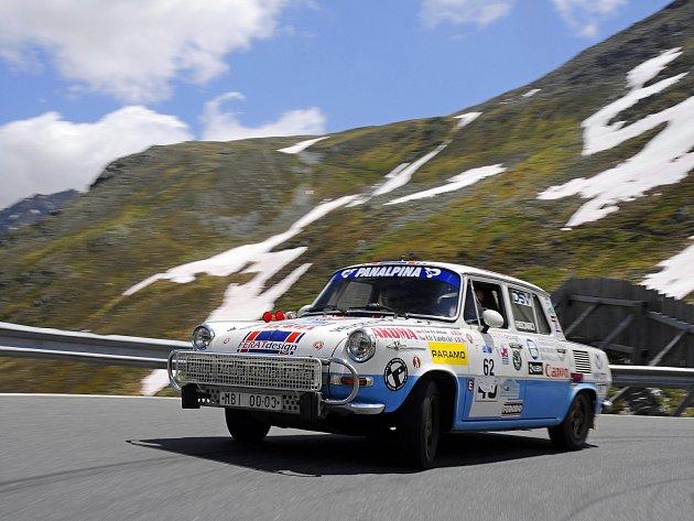 Škoda 1000 MB Rally z roku 1967 má všechny předpoklady k tomu, aby obstála v náročné soutěži.