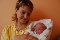 Maminka Petra Bobková z Bakova nad Jizerou porodila malou Zuzanku 25. srpna ve 14.10 hodin v Turnově.