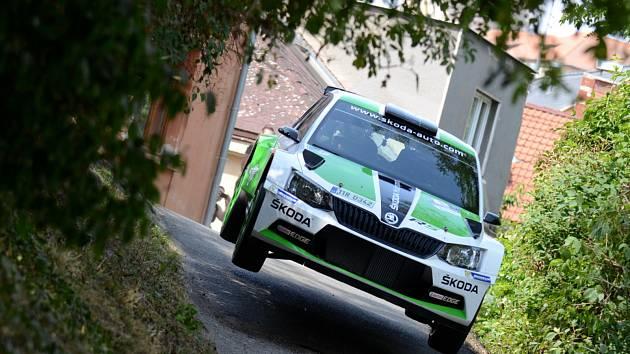 Jan Kopecký je opět hlavním favoritem domácí Rally Bohemia.