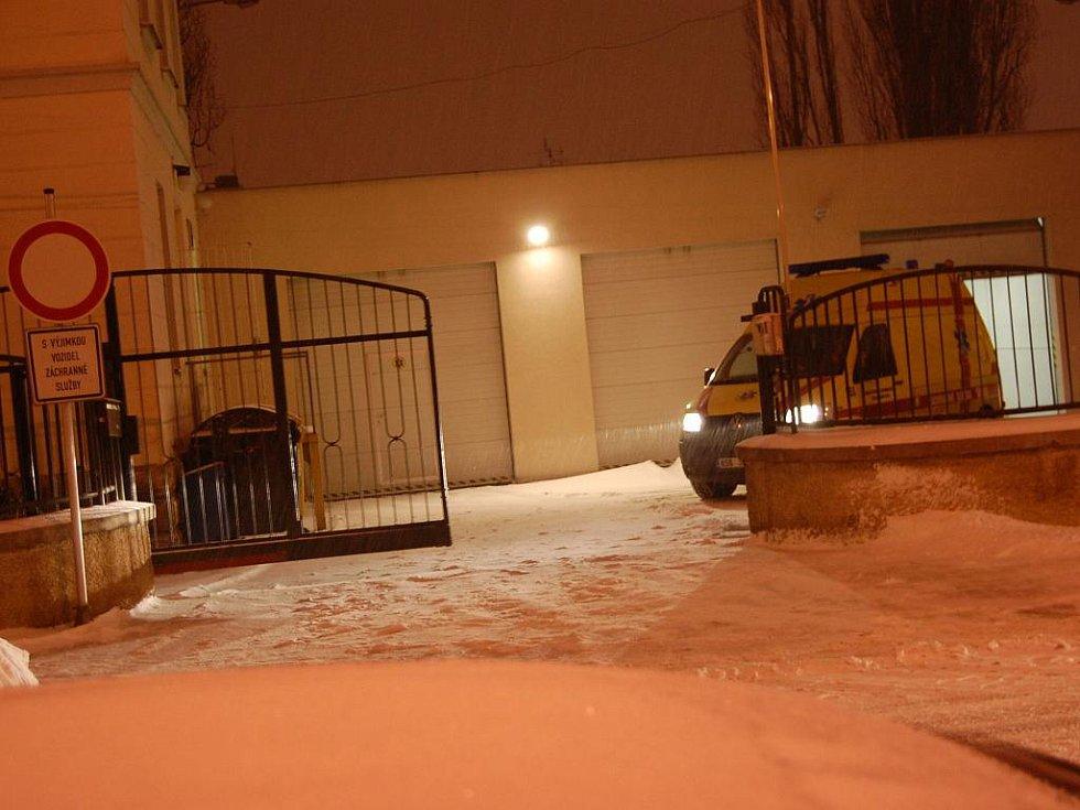 Sněhová kalamita - Záchranná služba Mladá Boleslav