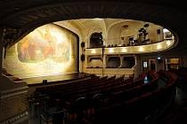 Interiér městského divadla Mladá Boleslav, ilustrační foto