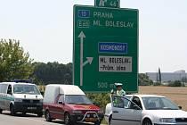 Silnice R10 na Mladoboleslavsku.