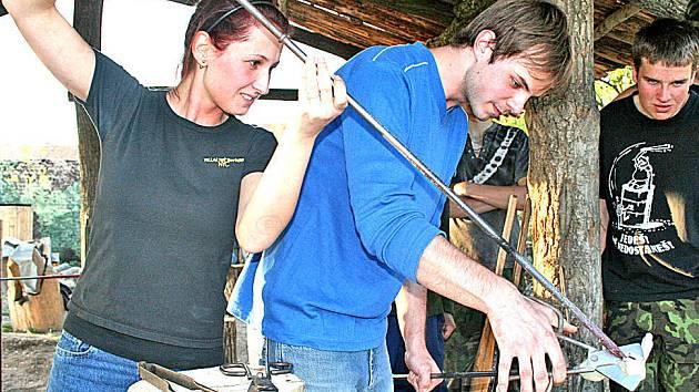 Co všechno se dá ze skla vyrobit předvedli studenti Vyšší odborné školy sklářské v Novém Boru