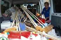 Do Vodňan a Prachatic už jede humanitární sbírka