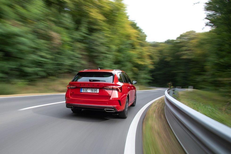 Škoda Octavia RS iV combi.