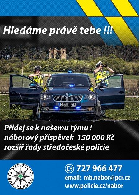 Policie nábor.