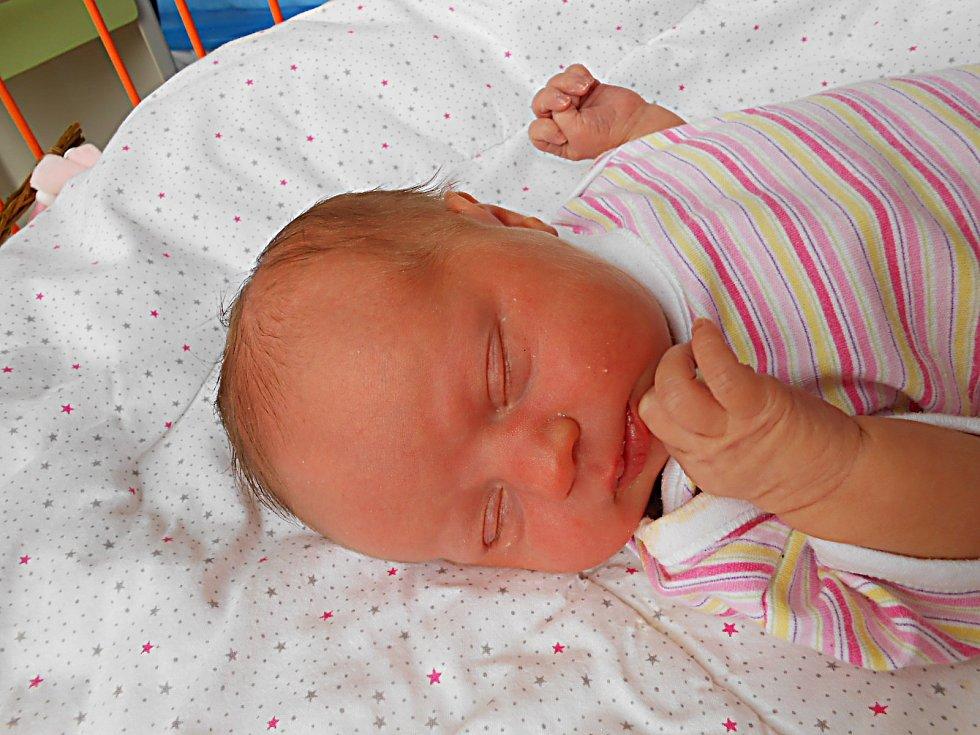 Charlotte Řeháková se narodila 20. dubna, vážila 3,48 kg a měřila 50 cm. S maminkou Kristýnou a tatínkem Jiřím budou bydlet v Mladé Boleslavi.